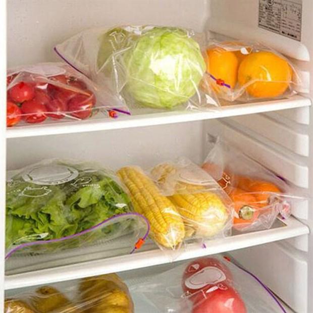 Cách dự trữ rau, củ, trái cây