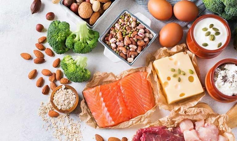 Thực phẩm khắc phục rụng tóc tuổi dậy thì