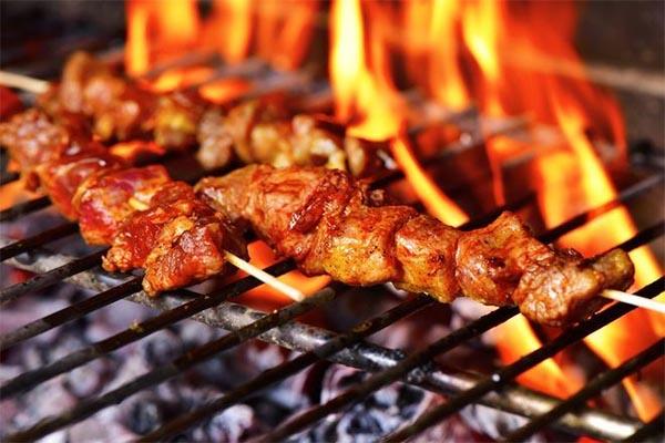 Nướng thịt ở nhiệt độ cao