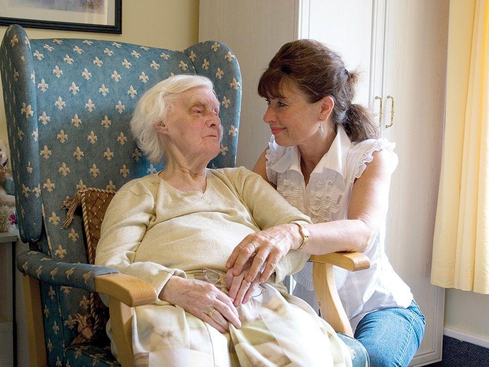 Tâm sự với người cao tuổi
