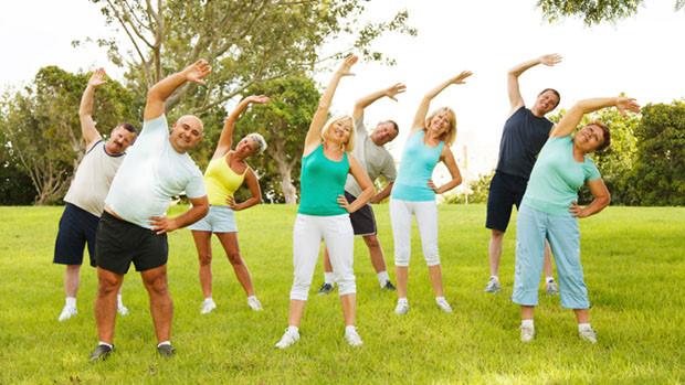 Tập thể dục cải thiện sức khỏe, sống hạnh phúc