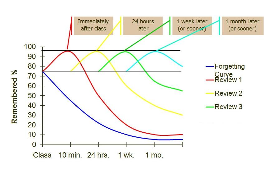 Phương pháp học y khoa hiệu quả: Lặp lại ngắt quãng
