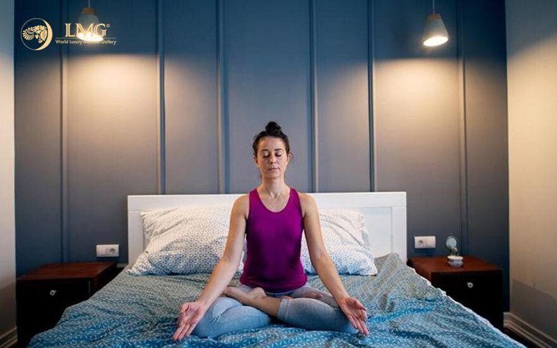 Nâng cao sức khỏe khi tập thở trước giấc ngủ