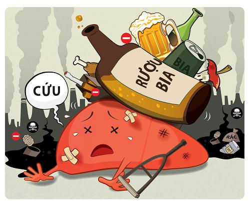 viêm gan do rượu