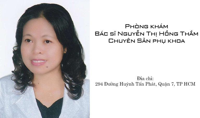 Bác sĩ sản khoa Nguyễn Thị Hồng Thắm